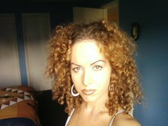 Heidi Marie Sunlight - Brunette, 3c, Medium hair styles, Kinky hair, Readers, Female hairstyle picture