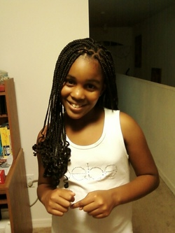Daija - transitioning - Brunette, Braids, Readers, Teen hair hairstyle picture