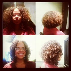 Deva Cut - Before & After - Brunette, 3b, 3a, Short hair styles, Makeovers, Adult hair, Bob hairstyles hairstyle picture