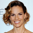 hilary swank - Spiral curls