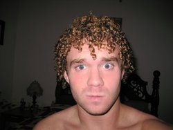 right after a shower :] - Blonde, 3c, Male, Short hair styles, Readers, Curly hair, Adult hair hairstyle picture