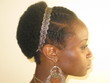 flat twist blow-out - Kinky hair, 4a, 4b