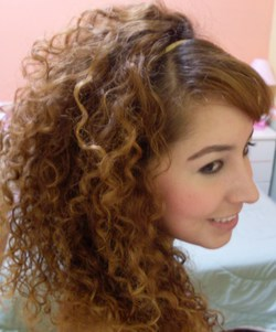 I love my curls - Redhead, Brunette, 3b, Long hair styles, Readers, Female, Curly hair hairstyle picture