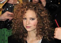 Tibi Fall 2010 - Courtesy of Runway Weekly - Blonde, 3b, 3a, Medium hair styles, Styles, Female, Curly hair, Teen hair hairstyle picture