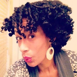 MamaNaturalista's TwistOut/BantuKnotOut :-)  - Brunette, 3c, Short hair styles, Twist hairstyles, Readers, Female, Adult hair, Bantu knots, Bantu knot out, Twist out hairstyle picture