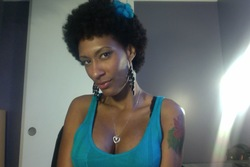 Afro - Brunette, 3c, 4a, Celebrities, Mature hair, Very short hair styles, Short hair styles, Afro, Readers, Female, Makeovers, Black hair, Adult hair hairstyle picture
