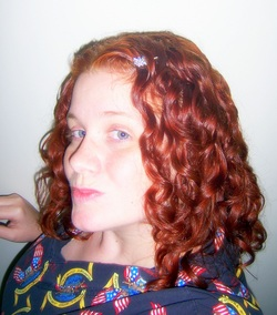 henna...my lifesaver - Redhead, Medium hair styles, Readers, Female, Curly hair hairstyle picture