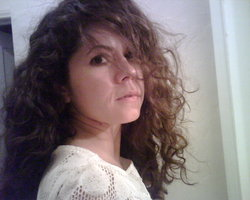 taming this big mess - Brunette, 3c, Wavy hair, Updos, Long hair styles, Readers, Female, Curly hair hairstyle picture