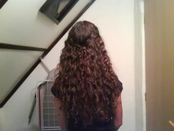 Growing Waves (2nd day hair) - Brunette, 2b, Long hair styles, Readers, Female, Teen hair, 2c, Adult hair hairstyle picture