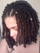 spiral dred locs - Brunette
