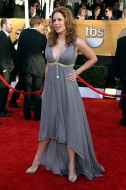 Jenna Fischer - Brunette, 2b, Celebrities, Wavy hair, Special occasion, Female hairstyle picture