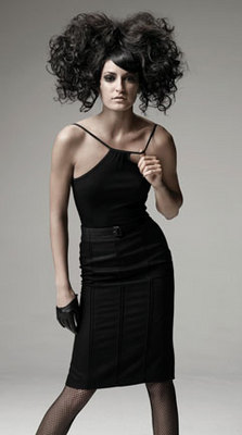 Sebastian Fall 2009 - Brunette, Updos, Long hair styles, Styles, Female, Curly hair hairstyle picture
