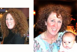 Cathy, before and after - Brunette, 3c, Medium hair styles, Female, Curly hair, Makeovers hairstyle picture