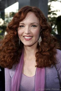 Amy Yasbeck - Redhead, 3a, Celebrities, Mature hair, Medium hair styles, Female, Curly hair hairstyle picture