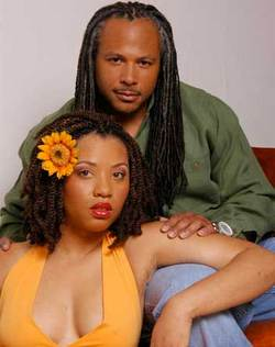 Two Gorgeous Looks from Uncle Funky's Daughter - Brunette, Male, Medium hair styles, Kinky hair, Long hair styles, Twist hairstyles, Styles, Female, Adult hair, Dreadlocks hairstyle picture