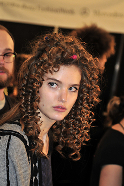 Tibi Fall 2010 - Courtesy of Runway Weekly - Redhead, 3a, Styles, Female, Curly hair, Formal hairstyles hairstyle picture