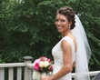 curly wedding updo -