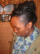 special occasion braid-out -