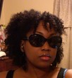 soft twist out with bangs - 4b