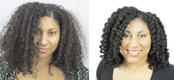 Richeau's Makeover by Curl Junkie - Brunette, Long hair styles, Female, Curly hair, Makeovers hairstyle picture