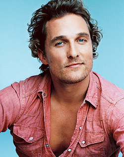 Matthew McConaughy - Blonde, 3a, Celebrities, Wavy hair, Male, Short hair styles, Curly hair hairstyle picture