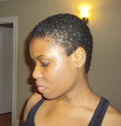 My Big Chop 08/07/2011 - 4b, Very short hair styles, Female hairstyle picture