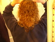 before henna - Wavy hair, 2a, 2b, 2c