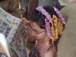 curlformers in use - kids hair