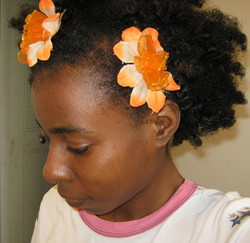 flower head - Readers, 2010 Holiday Photos hairstyle picture