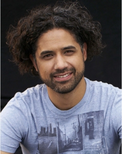American Idol: Kai Kalama - Brunette, 3b, Celebrities, Male, Medium hair styles, Kinky hair, Curly hair hairstyle picture