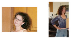 naustin3, Before and After - Brunette, 3b, Medium hair styles, Female, Curly hair, Makeovers, Deva Curly Girl Challenge hairstyle picture
