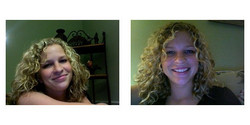 shelbymustang, Before and After - Makeovers, Deva Curly Girl Challenge hairstyle picture