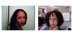 Curlychylde, Before and After - Makeovers, Deva Curly Girl Challenge hairstyle picture