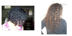 Ladydncing, Before and After - Makeovers, Deva Curly Girl Challenge hairstyle picture