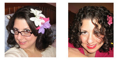CurlyBrunette, Before and After - Makeovers, Deva Curly Girl Challenge hairstyle picture