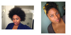 NiksNaks, Before and After - Makeovers, Deva Curly Girl Challenge hairstyle picture