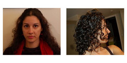 Peeech, Before and After - Makeovers, Deva Curly Girl Challenge hairstyle picture