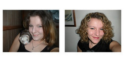 dangerouscurls, Before and After - Makeovers, Deva Curly Girl Challenge hairstyle picture