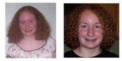 curlyredhead93, Before and After - Makeovers, Deva Curly Girl Challenge hairstyle picture