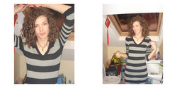 ln, Before and After - Makeovers, Deva Curly Girl Challenge hairstyle picture