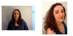 kredmon, Before and After - Makeovers, Deva Curly Girl Challenge hairstyle picture
