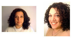 ychamorro, Before and After - Makeovers, Deva Curly Girl Challenge hairstyle picture