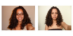 denise_221, Before and After - Makeovers, Deva Curly Girl Challenge hairstyle picture