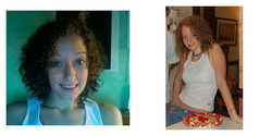 skababi1532, Before and After - Makeovers, Deva Curly Girl Challenge hairstyle picture