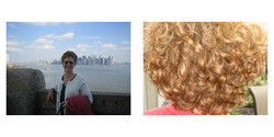 Augie, Before and After - Makeovers, Deva Curly Girl Challenge hairstyle picture