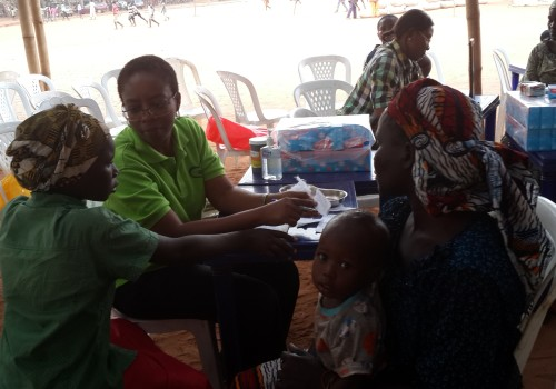 IDP Camp Nigeria Doctor Health Initiative