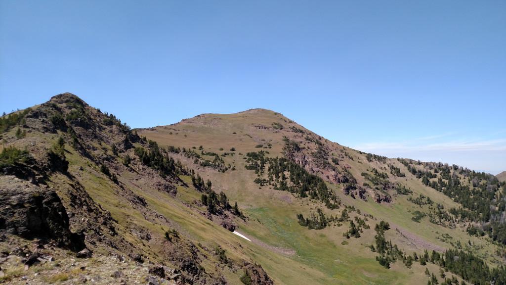 Mount Blackmore.