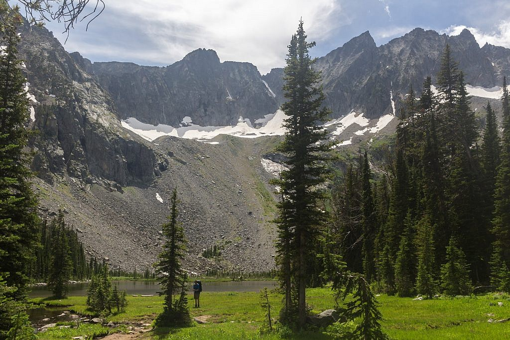 Upper Twin Lake. There're plenty of areas to camp.