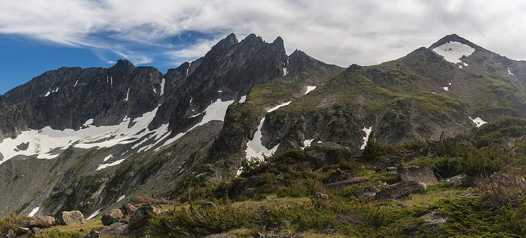 Another unnamed peak to the south.