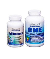 Naturezone Micronutritionals Self Defence and CNE Multi Vitamin Mineral Supplements